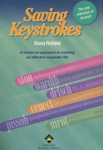 Saving Keystrokes   2005 edition cover