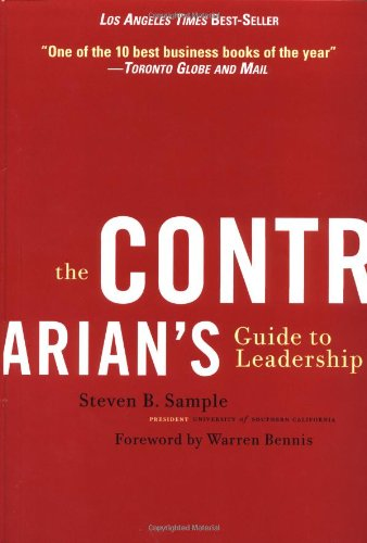 Contrarian's Guide to Leadership   2001 edition cover