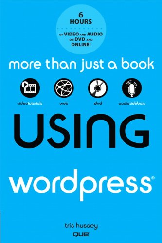 Using WordPress   2012 9780789749079 Front Cover