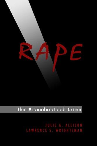 Rape The Misunderstood Crime  1993 edition cover