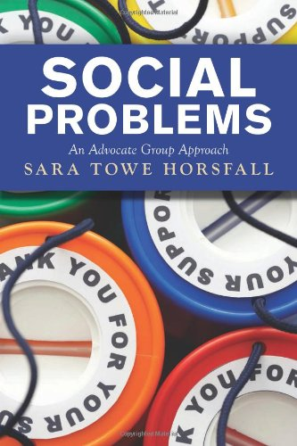 Social Problems An Advocate Group Approach  2012 edition cover