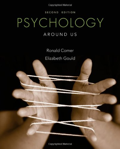 Psychology Around Us  2nd 2013 edition cover