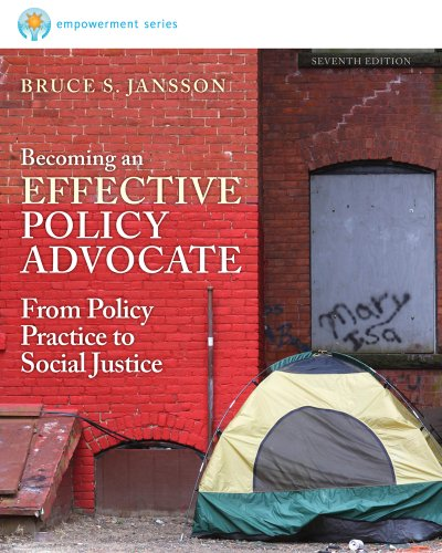 Becoming an Effective Policy Advocate  7th 2014 edition cover