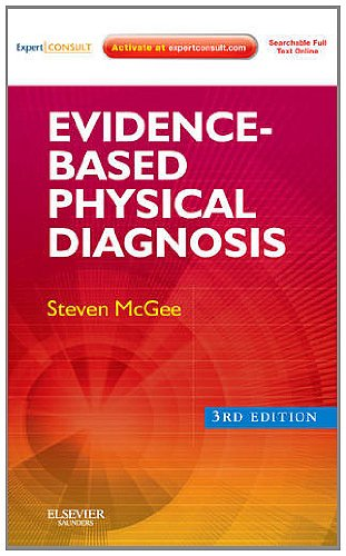Evidence-Based Physical Diagnosis Expert Consult - Online and Print 3rd 2012 edition cover