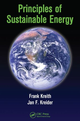 Principles of Sustainable Energy   2010 9781439814079 Front Cover