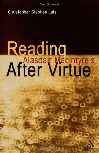 Reading Alasdair MacIntyre's after Virtue   2012 9781441145079 Front Cover