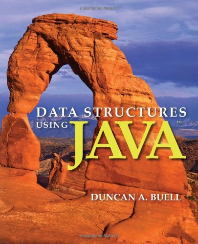 Data Structures Using Java   2013 edition cover