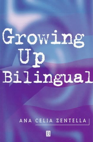 Growing up Bilingual Puerto Rican Children in New York  1997 edition cover