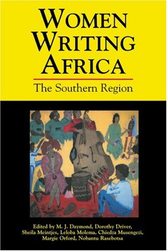 Women Writing Africa - The Southern Region   2003 edition cover