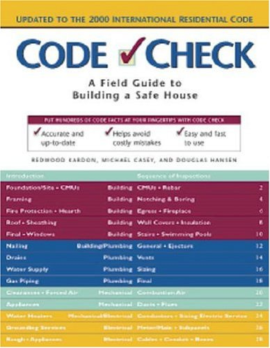 Code Check Field Guide to Building a Safe House 3rd 2000 (Revised) edition cover