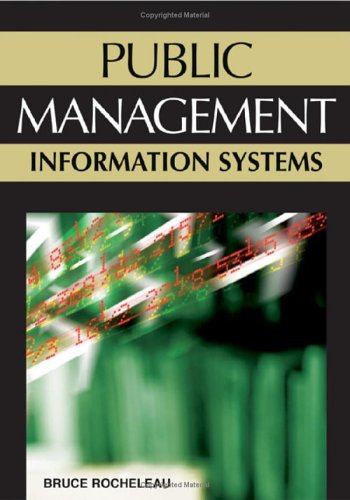 Public Management Information Systems   2006 edition cover