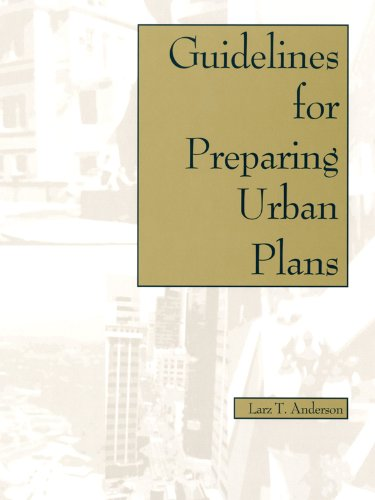 Guidelines for Preparing Urban Plans   1995 9781884829079 Front Cover