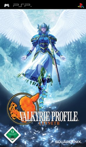 Valkyrie Profile Lenneth Sony PSP artwork