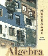 Elementary Algebra (with Digital Video Companion CD-ROM)  6th 2000 edition cover