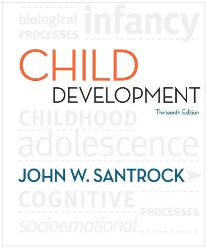 Child Development  13th 2011 edition cover