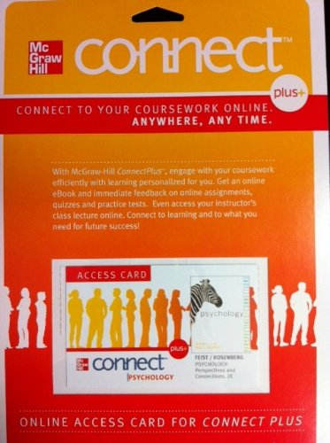 PSYCHOLOGY:PERSP...-CONNECT PLUS ACCESS N/A edition cover