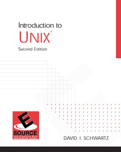 Introduction to UNIX  2nd 2006 (Revised) 9780130613080 Front Cover