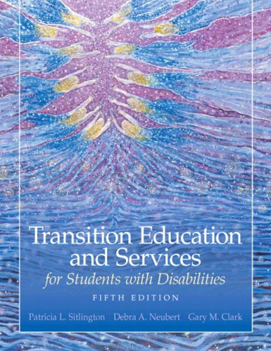 Transition Education and Services for Students with Disabilities  5th 2010 edition cover