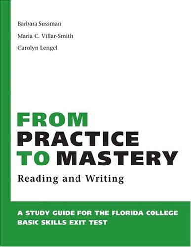 From Practice to Mastery  N/A 9780312419080 Front Cover