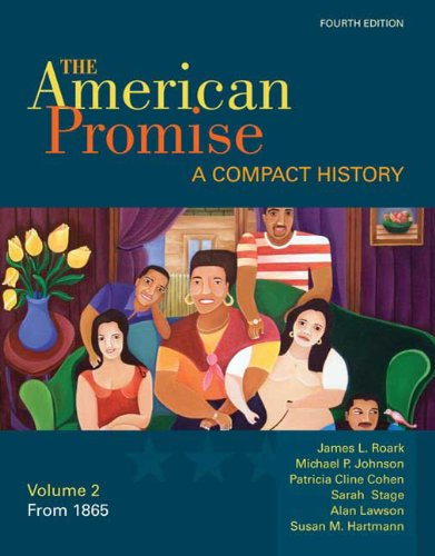 American Promise A Compact History - From 1865 4th edition cover