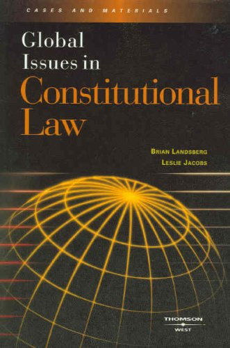 Global Issues in Constitutional Law  N/A edition cover
