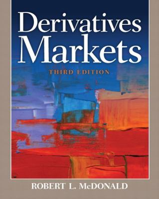 Derivatives Markets  3rd 2013 edition cover