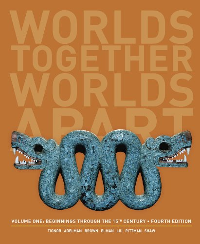 Worlds Together, Worlds Apart: A History of the World: Beginnings Through the Fifteenth Century  2013 edition cover