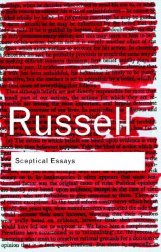 Sceptical Essays  2nd 2004 (Revised) edition cover