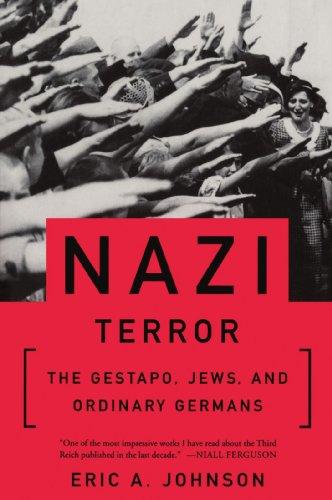 Nazi Terror Gestapo, Jews, and Ordinary Germans  2000 edition cover