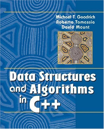 Data Structures and Algorithms in C++   2004 edition cover
