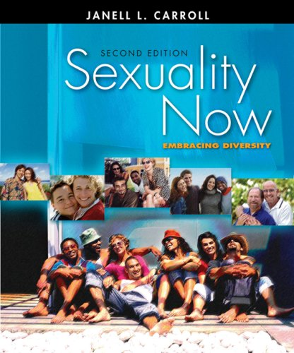 Sexuality Now Embracing Diversity 2nd 2007 (Revised) edition cover
