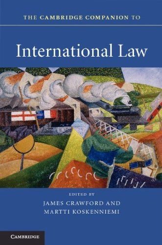 Cambridge Companion to International Law   2012 edition cover