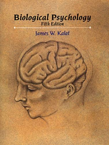 Biological Psychology  5th 1995 edition cover