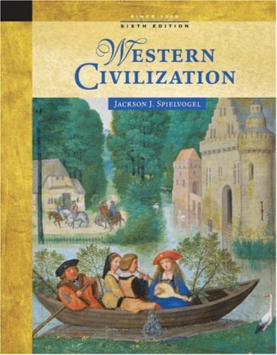 Western Civilization since 1300  6th 2006 edition cover