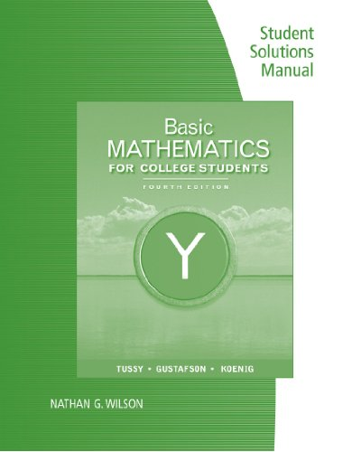 Basic Mathematics For College Students 4th 2011 9780538734080 Front Cover