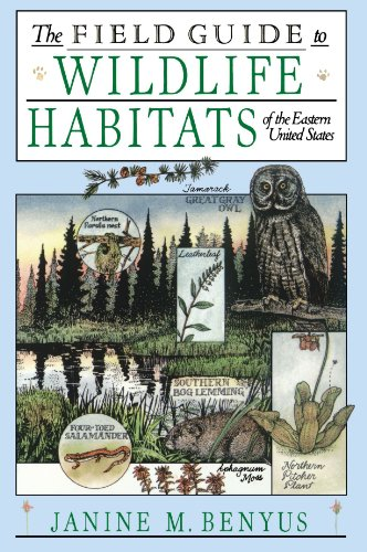 Field Guide to Wildlife Habitats of the Eastern United States   1989 edition cover