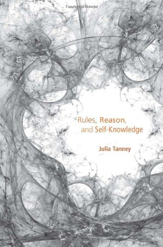 Rules, Reason, and Self-Knowledge   2012 9780674067080 Front Cover