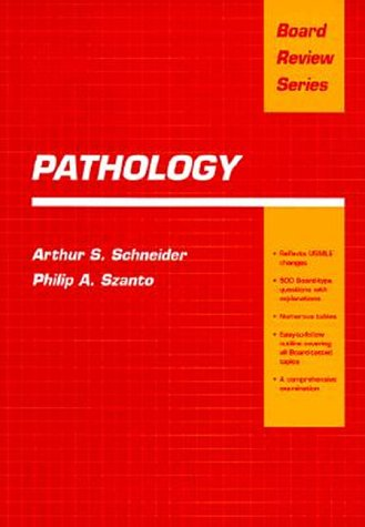 BRS Pathology   1993 9780683076080 Front Cover