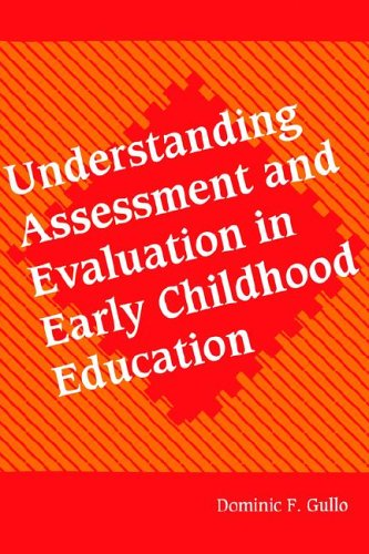 Understanding Assessment and Evaluation in Early Childhood Education   1994 edition cover