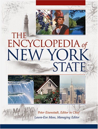 Encyclopedia of New York State   2005 edition cover