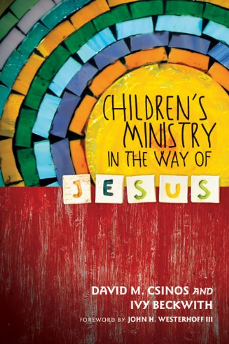 Children's Ministry in the Way of Jesus  N/A edition cover