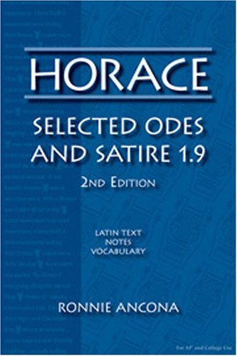 Horace Selected Odes and Satire 1. 9 2nd 2005 edition cover