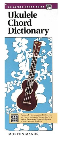 Ukulele Chord Dictionary Handy Guide  1978 edition cover
