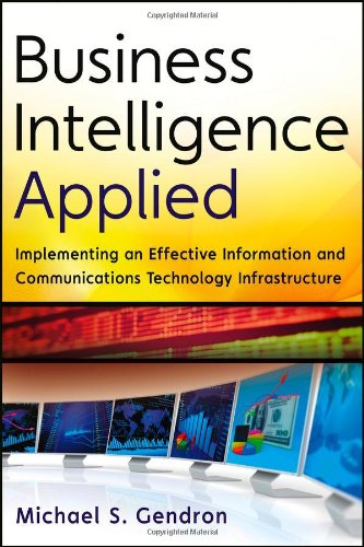 Business Intelligence Applied Implementing an Effective Information and Communications Technology Infrastructure  2013 edition cover
