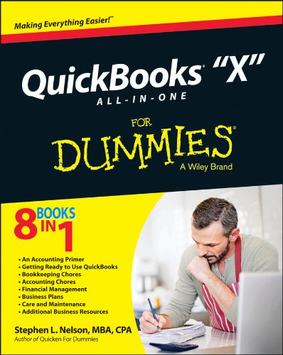 QuickBooks X All-In-One for Dummies   2014 edition cover