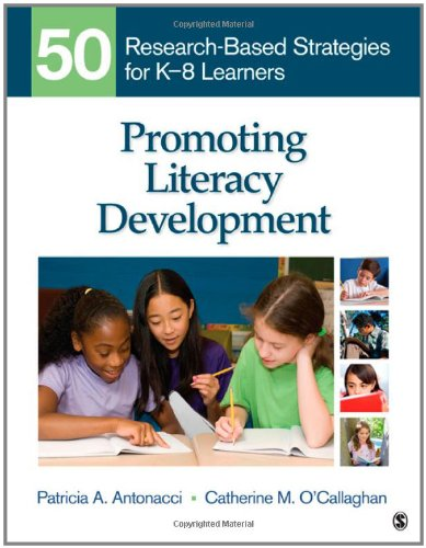 Promoting Literacy Development 50 Research-Based Strategies for K-8 Learners  2012 edition cover