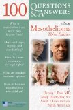 100 Questions and Answers about Mesothelioma  3rd 2013 edition cover