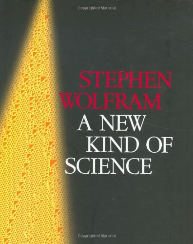 New Kind of Science   2002 edition cover