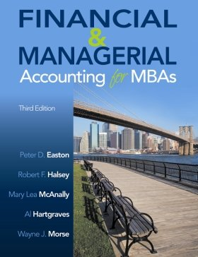 Financial and Managerial Accounting for MBAs  3rd (Student Manual, Study Guide, etc.) edition cover