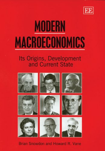 Modern Macroeconomics Its Origins, Development and Current State  2005 edition cover